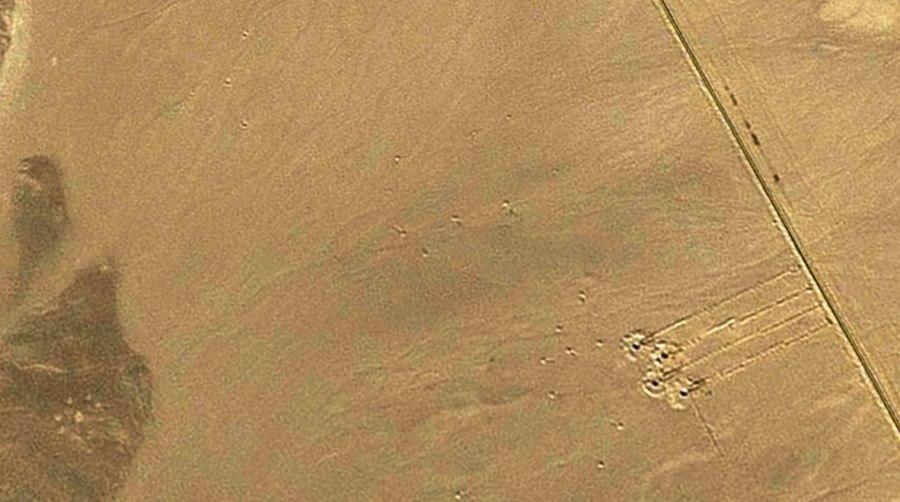 Questo particolare geoglifo sembra essere la parte descrittiva o leggenda di una carta stellare