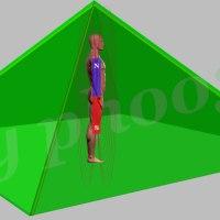 Una piramide su misura