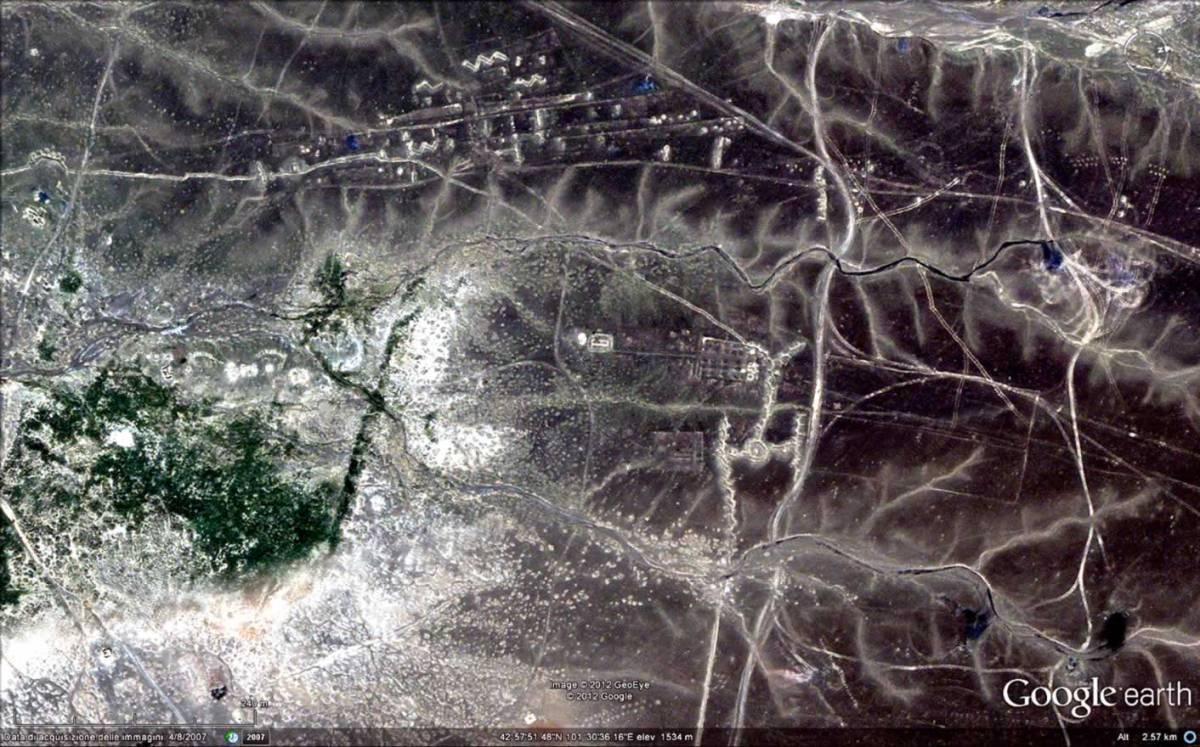 I geoglifi della Mongolia e quelli del Sinai...