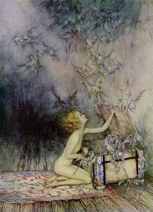 Fonte immagine:http://it.wikipedia.org/wiki/File:Pandora_by_Arthur_Rackham.jpg