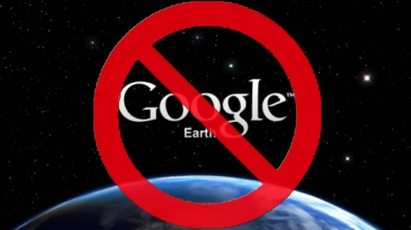 Censura di Google Earth