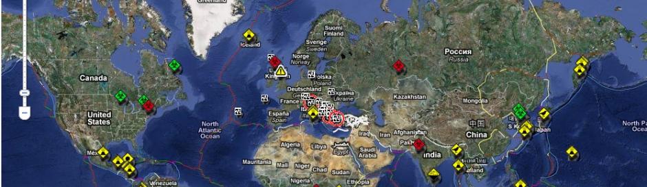 Fonte: http://affreschidigitali.blogosfere.it/2011/01/tutte-le-emergenze-nel-mondo-su-ununica-mappa-in-tempo-reale.html