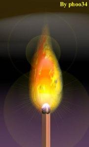 Chi o cosa ha ha acceso il fiammifero primordiale?