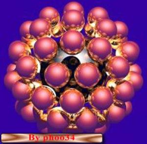 """L'immagine teorica di un """"tempone"""" o temp-atomo"""