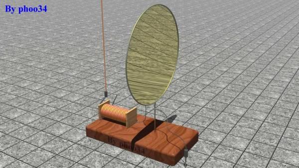 Modello estrapolato dalla descrizione di una presunta proto radio della metà del 1800