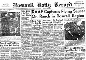 Fonte immagine: http://en.wikipedia.org/wiki/Roswell_UFO_incident
