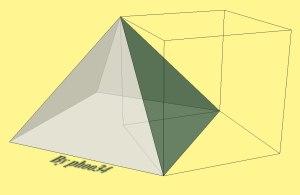 Piramide costruita sul triangolo equilatero