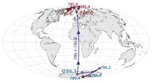 Fonte immagine: http://www.meteoweb.eu/2014/10/i-poli-magnetici-della-terra-si-stanno-invertendo-davvero-ecco-lo-studio-di-cnr-e-ingv/342245/